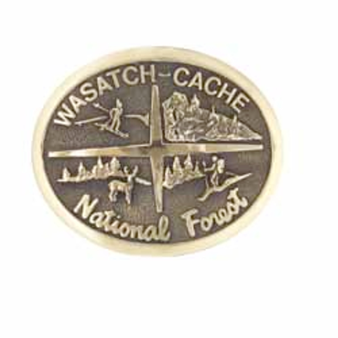 Wasatch-Cache National Forest Buckle