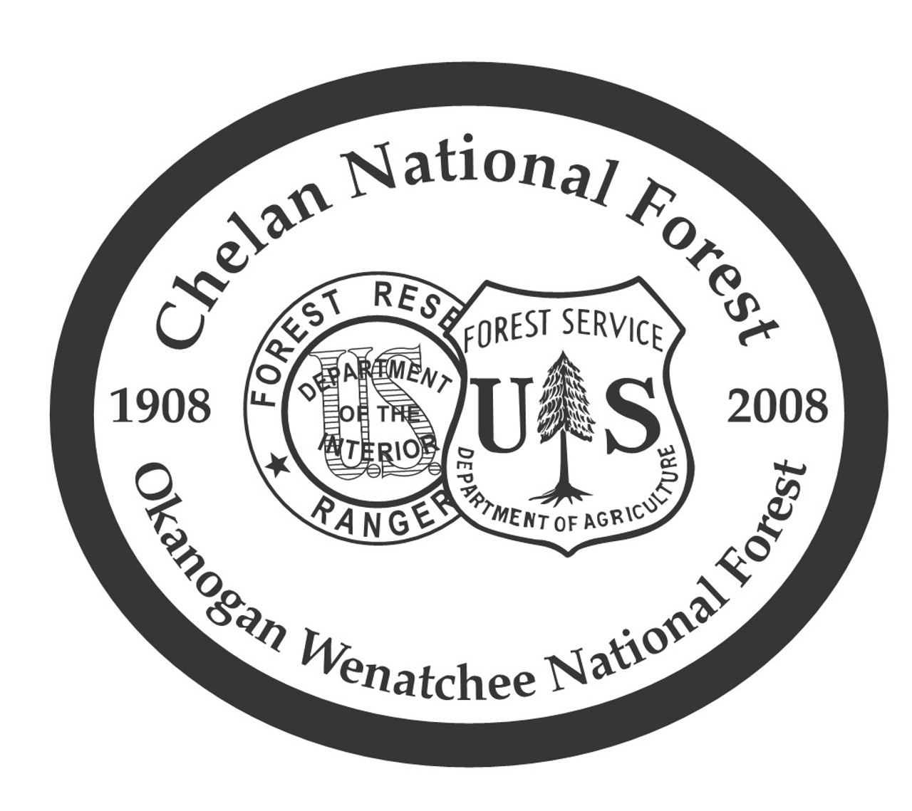 Chelan National Forest Okanogan Wenatchee National Forest Buckle
