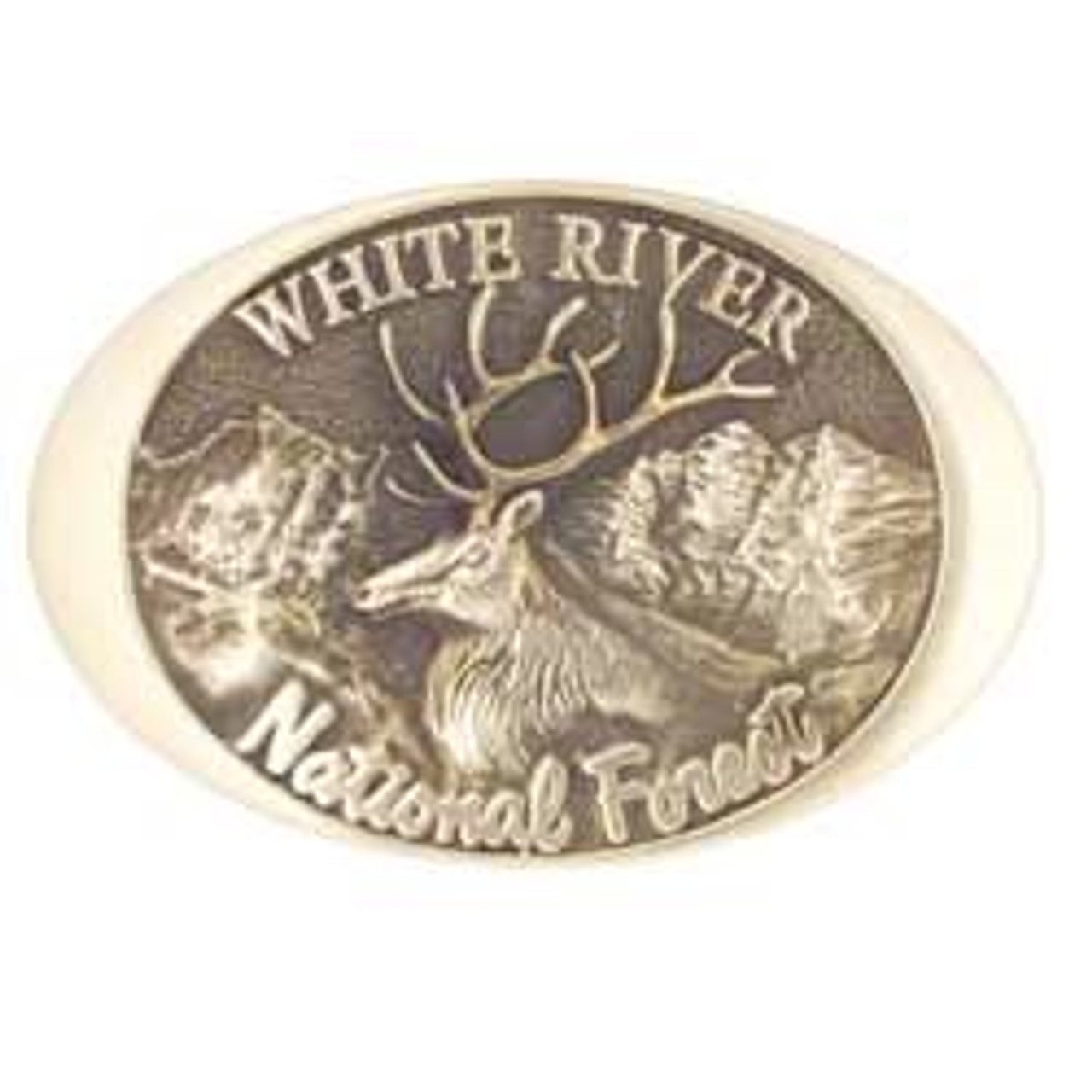White River National Forest Buckle