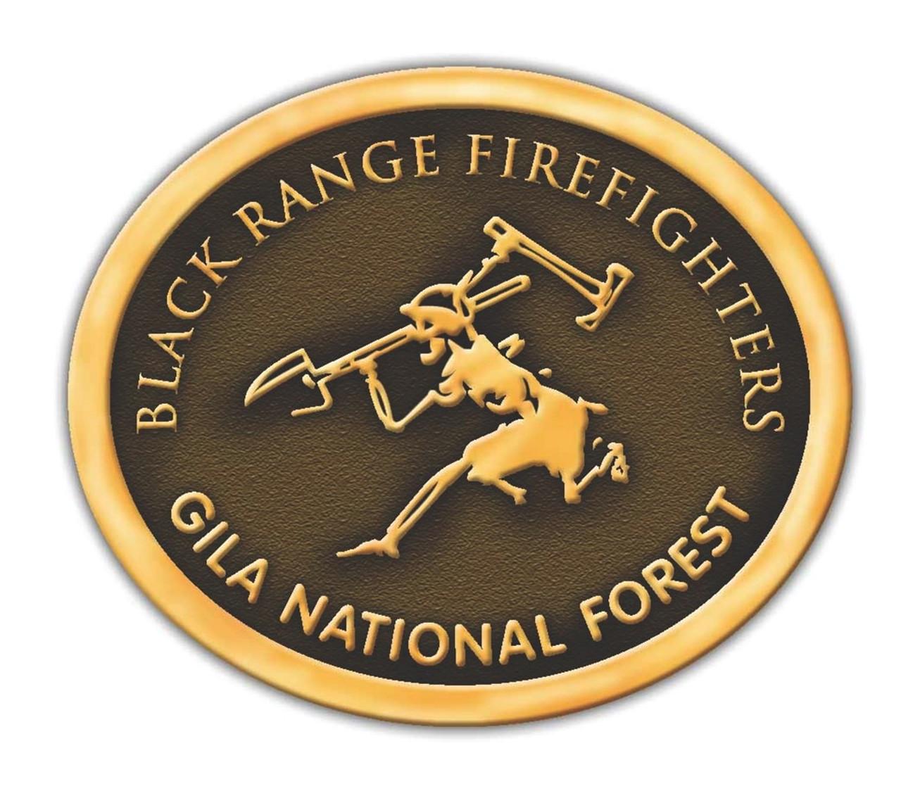 Black Range Firefighters Buckle (RESTRICTED)