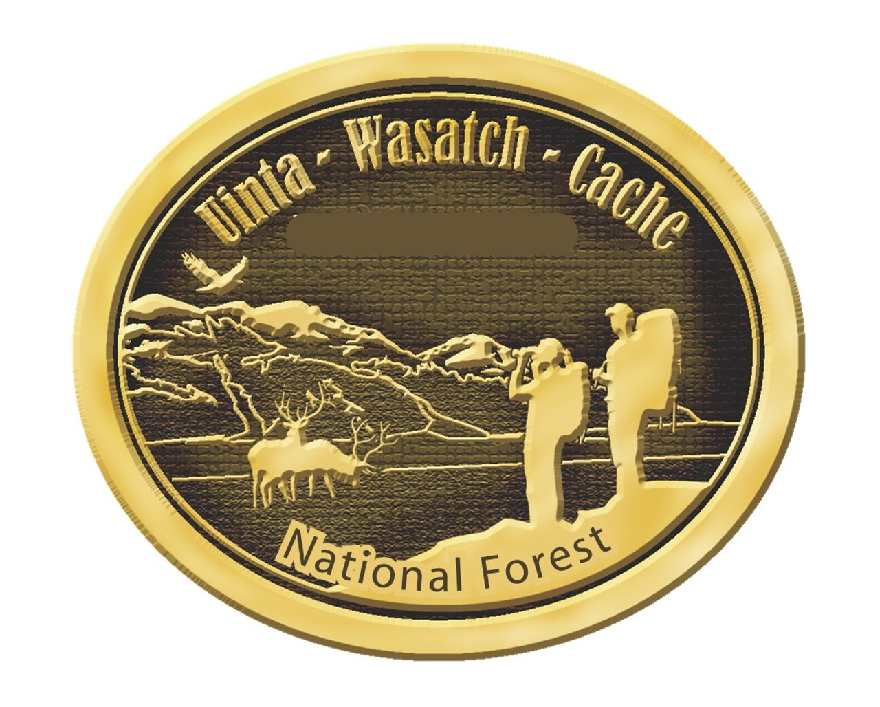 Uinta-Wasatch-Cache National Forest Buckle