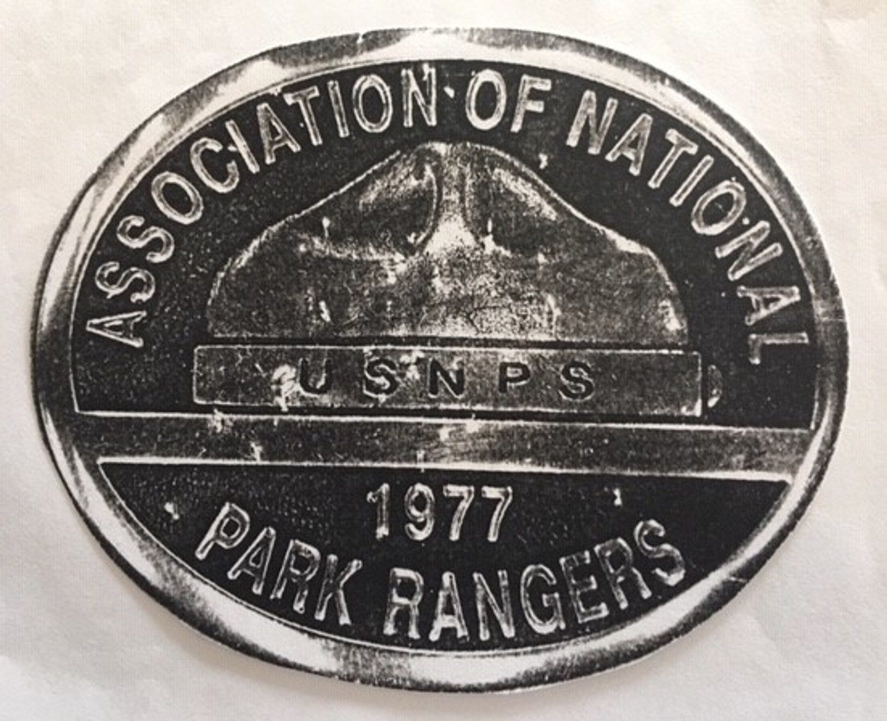 Association of National Park Rangers Buckle
