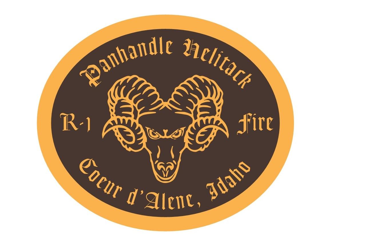 Panhandle Helitack Coeur d'Alene Idaho Buckle (RESTRICTED)