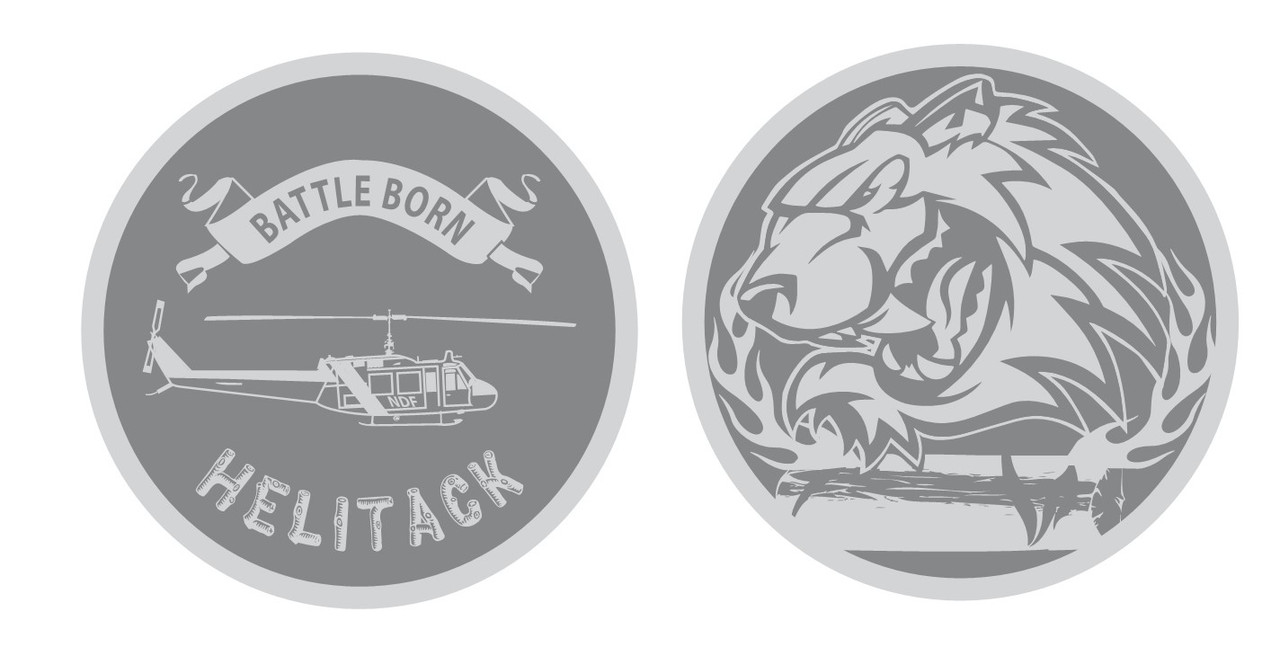 Battle Born Helitack Coin (RESTRICTED)