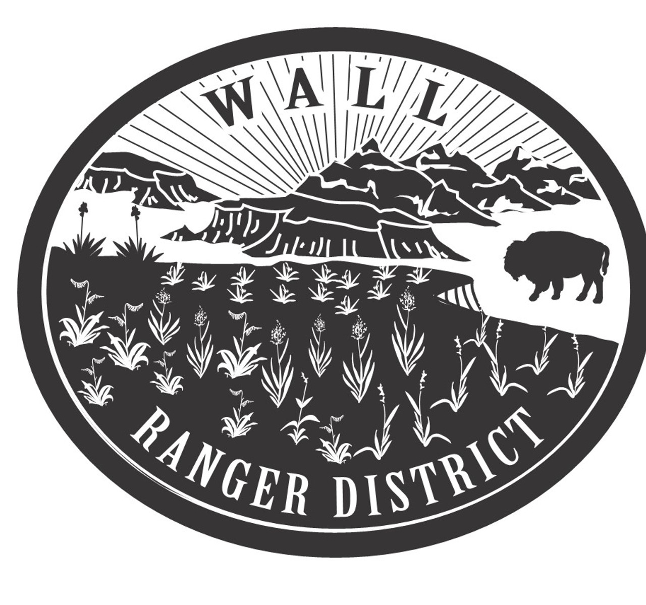 Wall Ranger District Buckle
