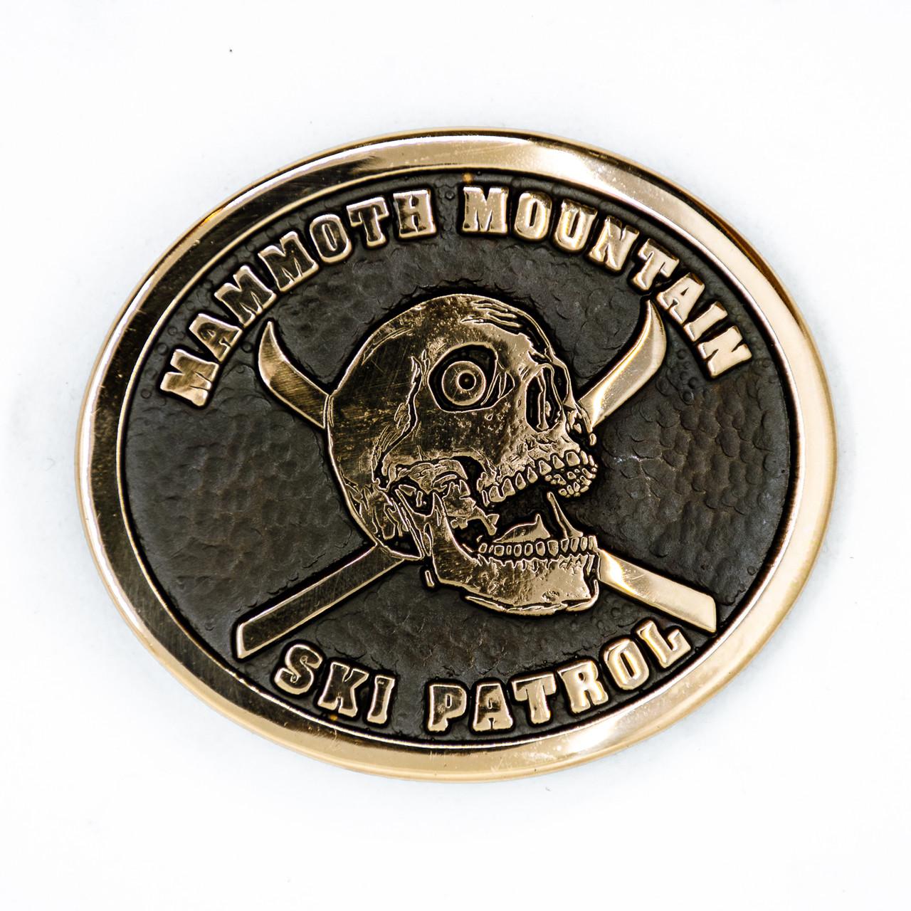 Mammoth Mountain Ski Patrol Buckle (RESTRICTED)