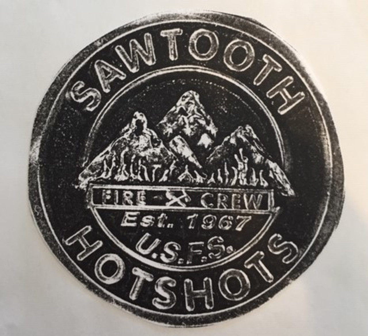 Sawtooth Hotshots Buckle  (RESTRICTED)