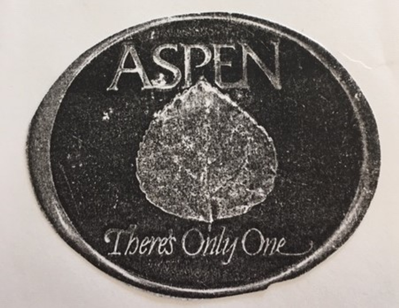 Aspen There's Only One Buckle