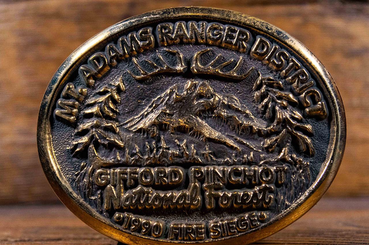 Mt. Adams Ranger District Buckle