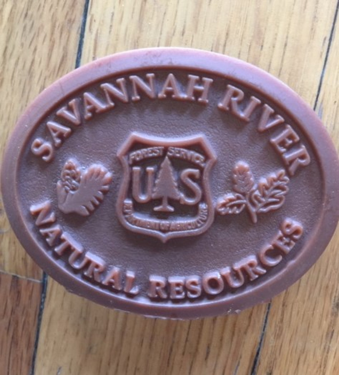 Savannah River Natural Resources Buckle