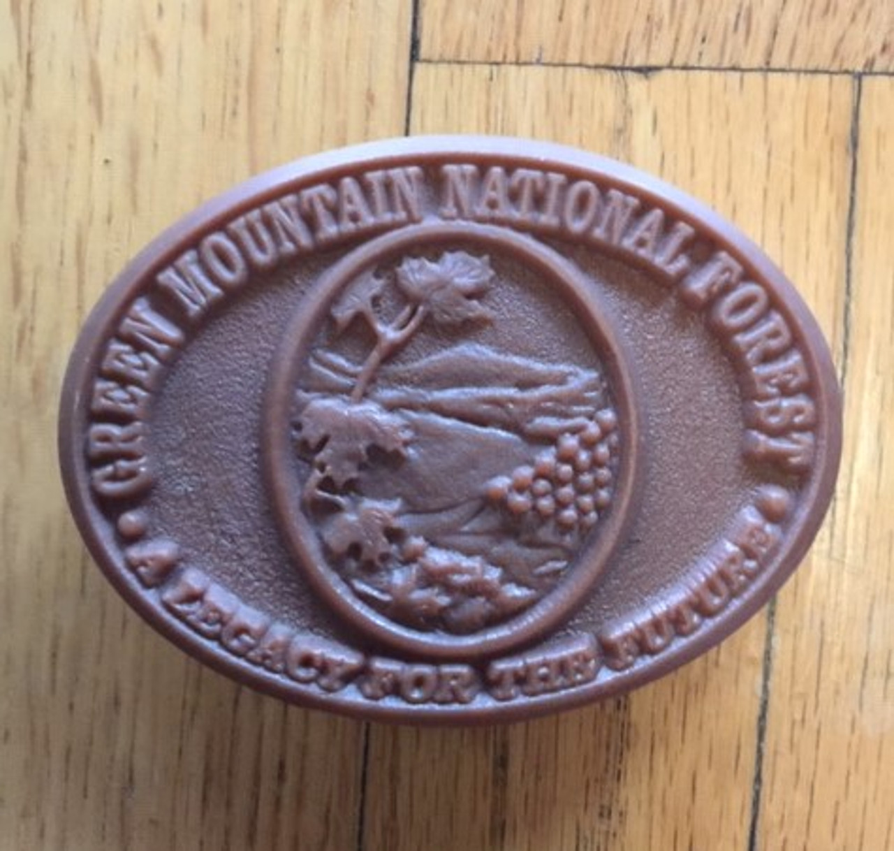 Green Mountain National Forest Buckle