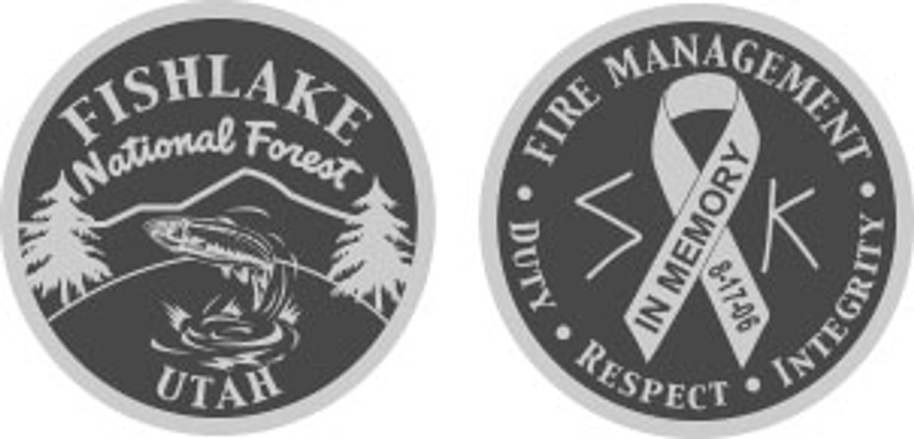 Fish Lake Coin SILVER ALLOY