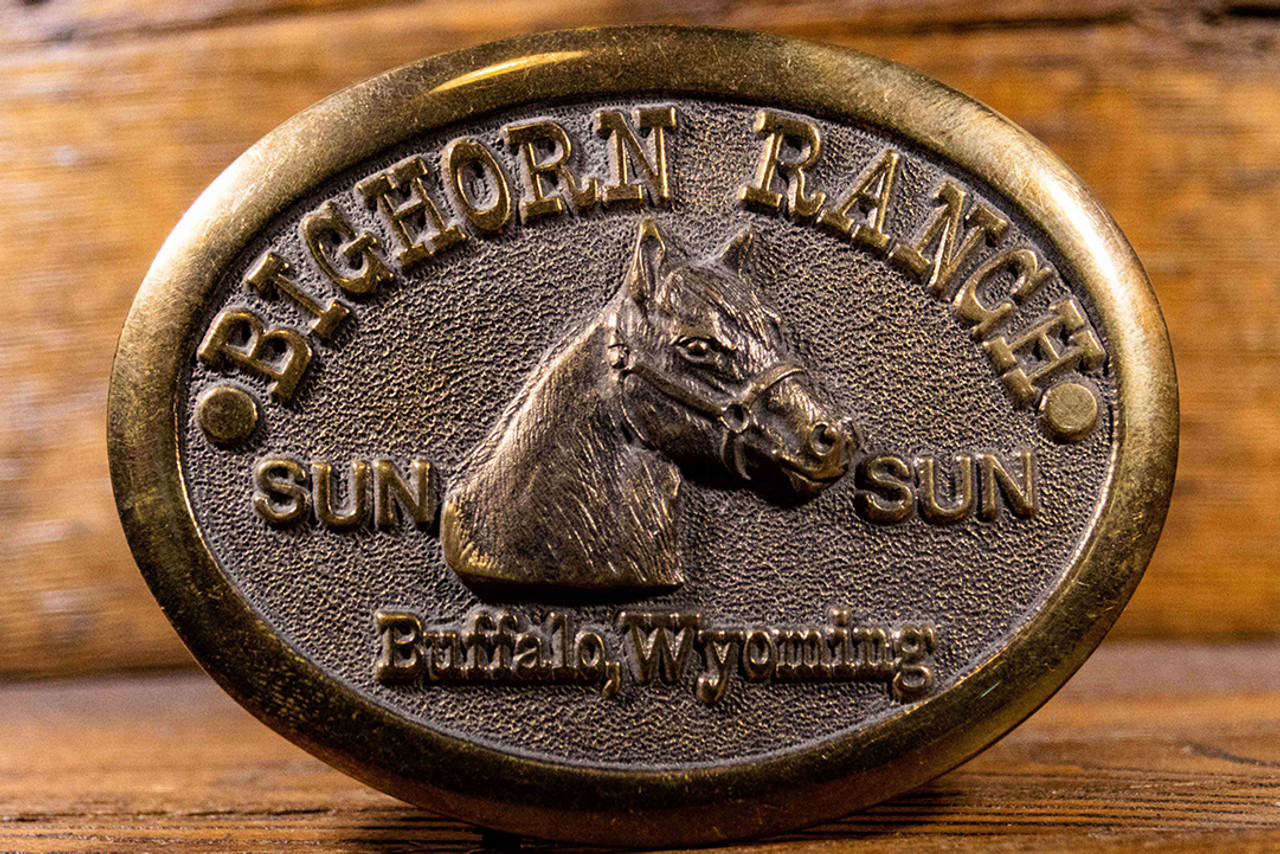 Bighorn Ranch Buckle (RESTRICTED)
