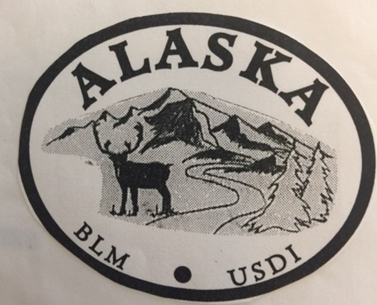 Alaska Bureau of Reclamation Buckle