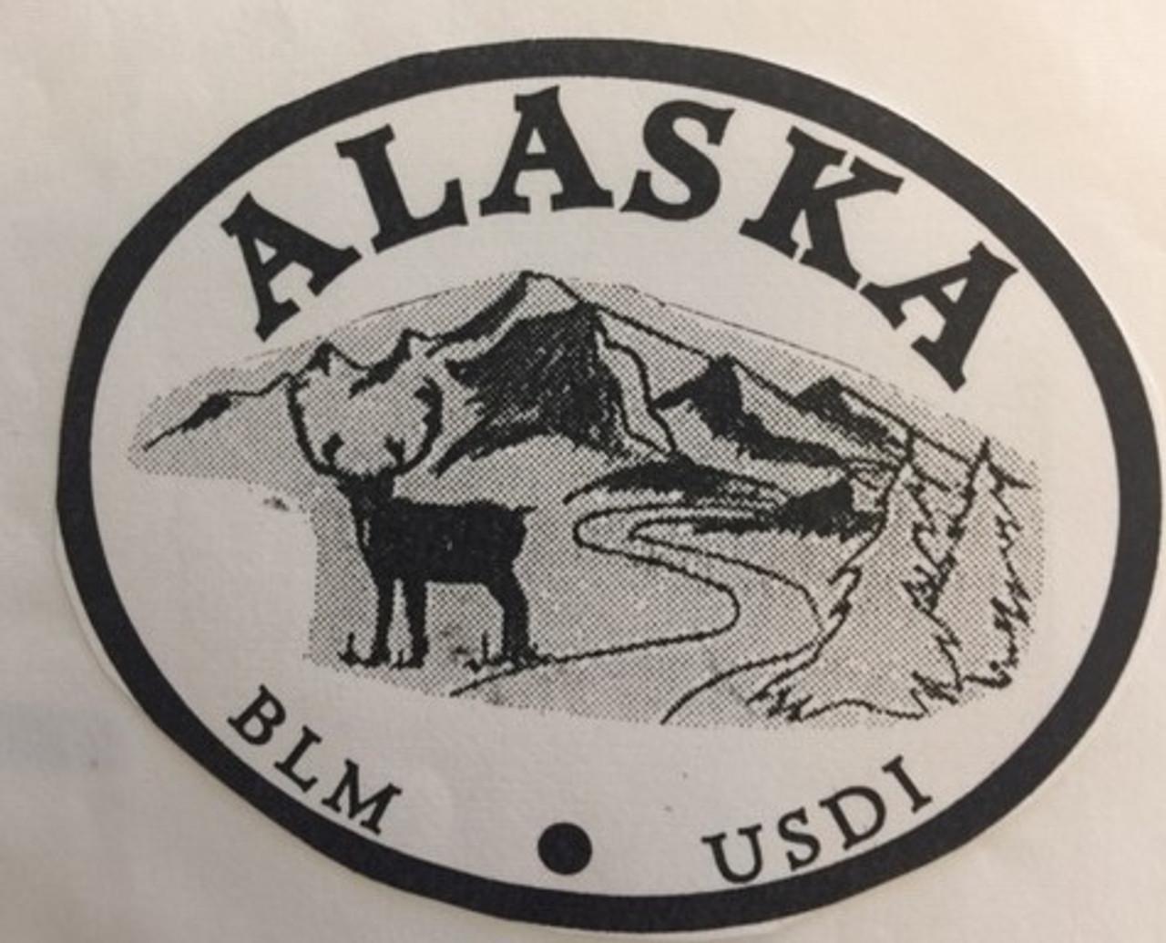 Alaska Bureau of Reclamation Buckle
