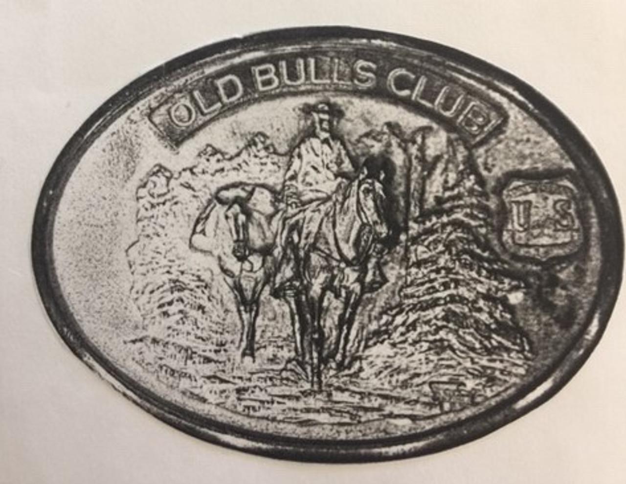 Old Bulls Club Buckle