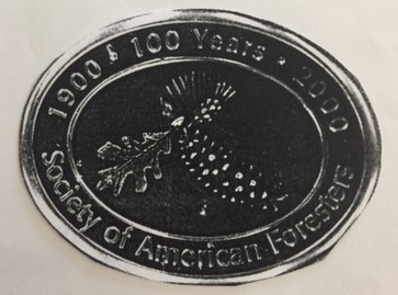 Society of American Foresters 100 Years Buckle