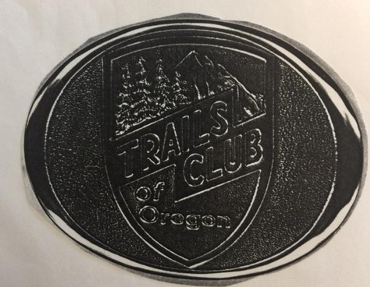 Trails Club of Oregon Buckle
