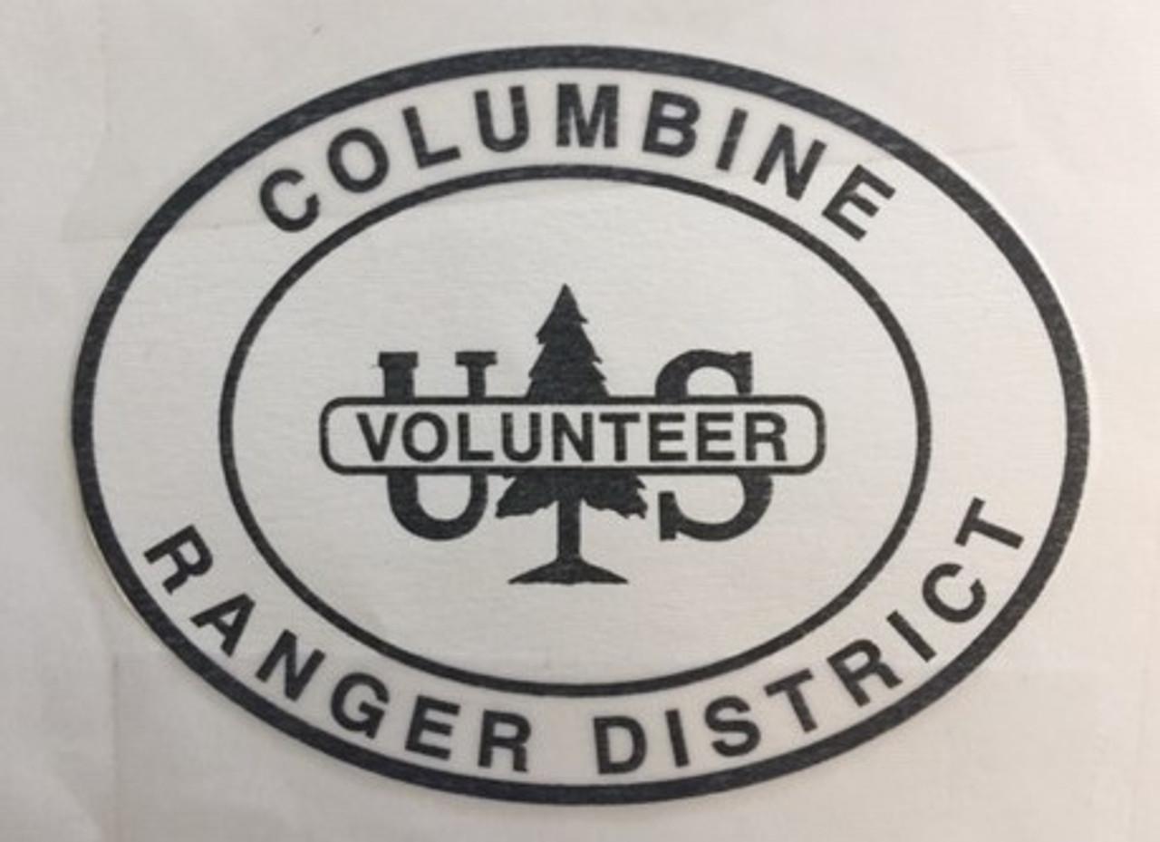 Columbine Ranger District Volunteer Buckle