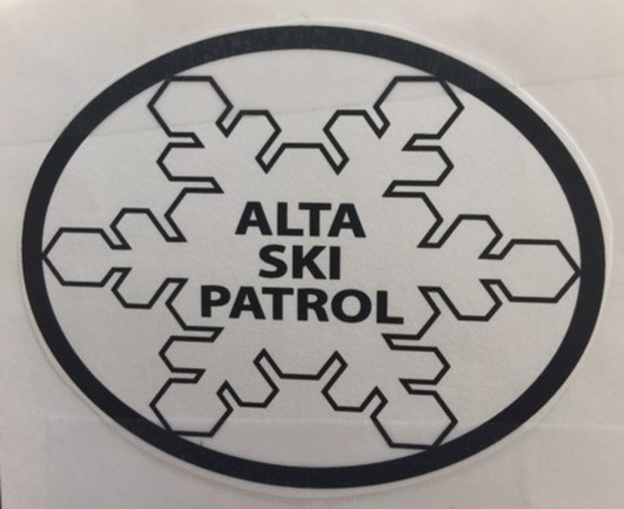 Alta Ski Patrol Buckle