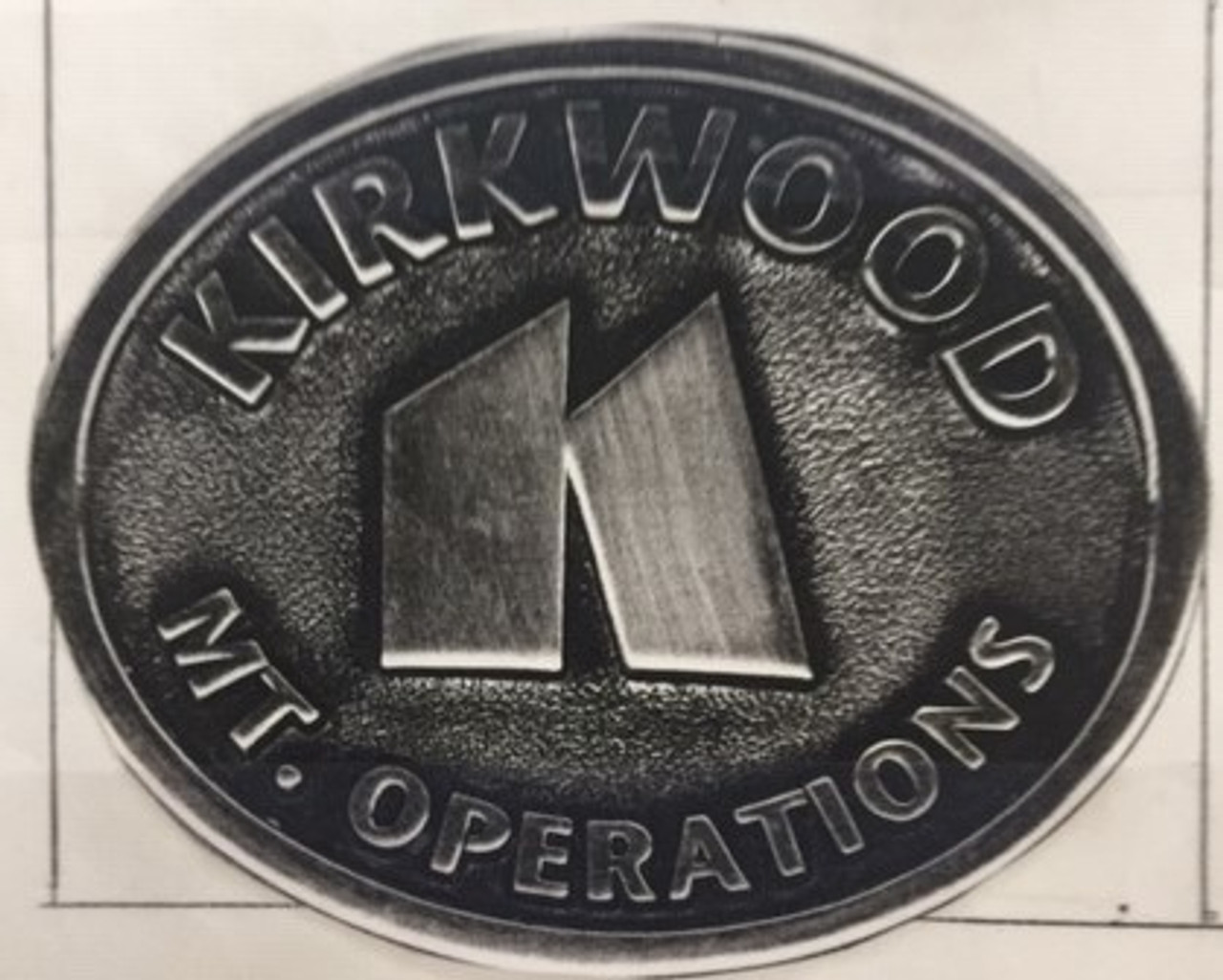 Kirkwood Mt. Operations Buckle