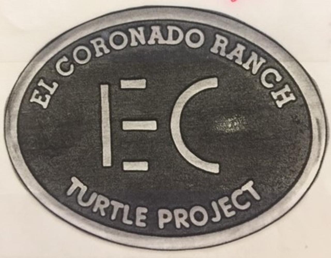 El Coronado Ranch Turtle Project Buckle