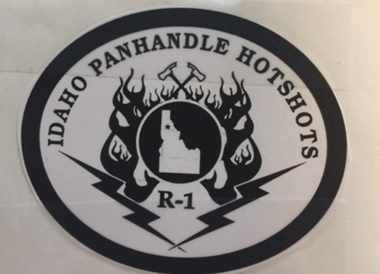 Idaho Panhandle Hotshots R-1 Buckle (RESTRICTED)