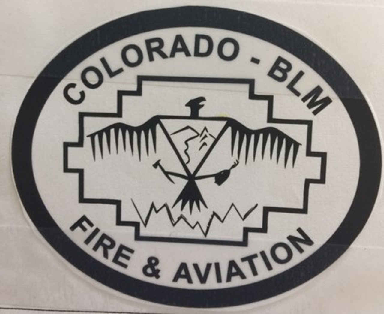 Colorado Bureau of Land Management Fire & Aviation Buckle (RESTRICTED)