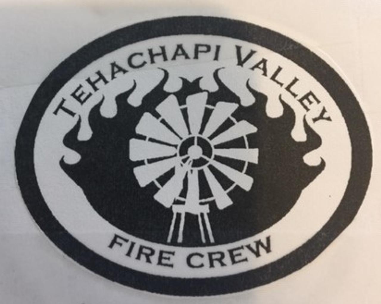 Tehachapi Valley Fire Crew Buckle (RESTRICTED)