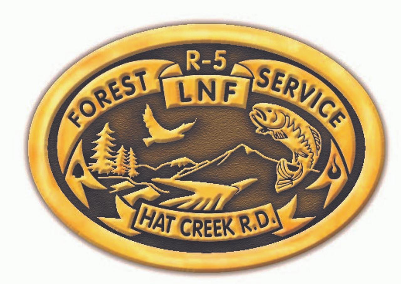 Hat Creek Ranger District Buckle
