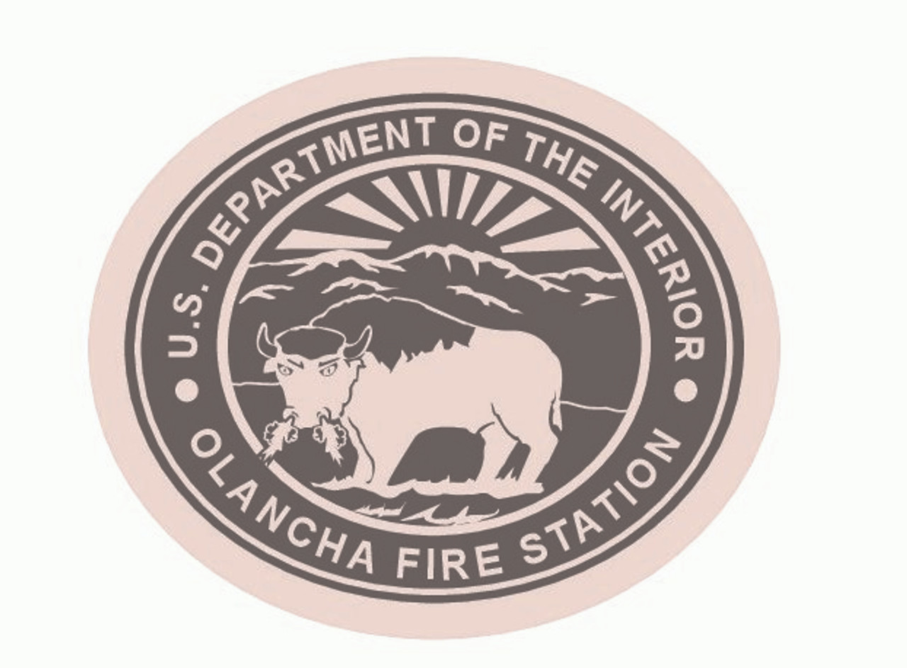 Olancha Fire Station Buckle (RESTRICTED)