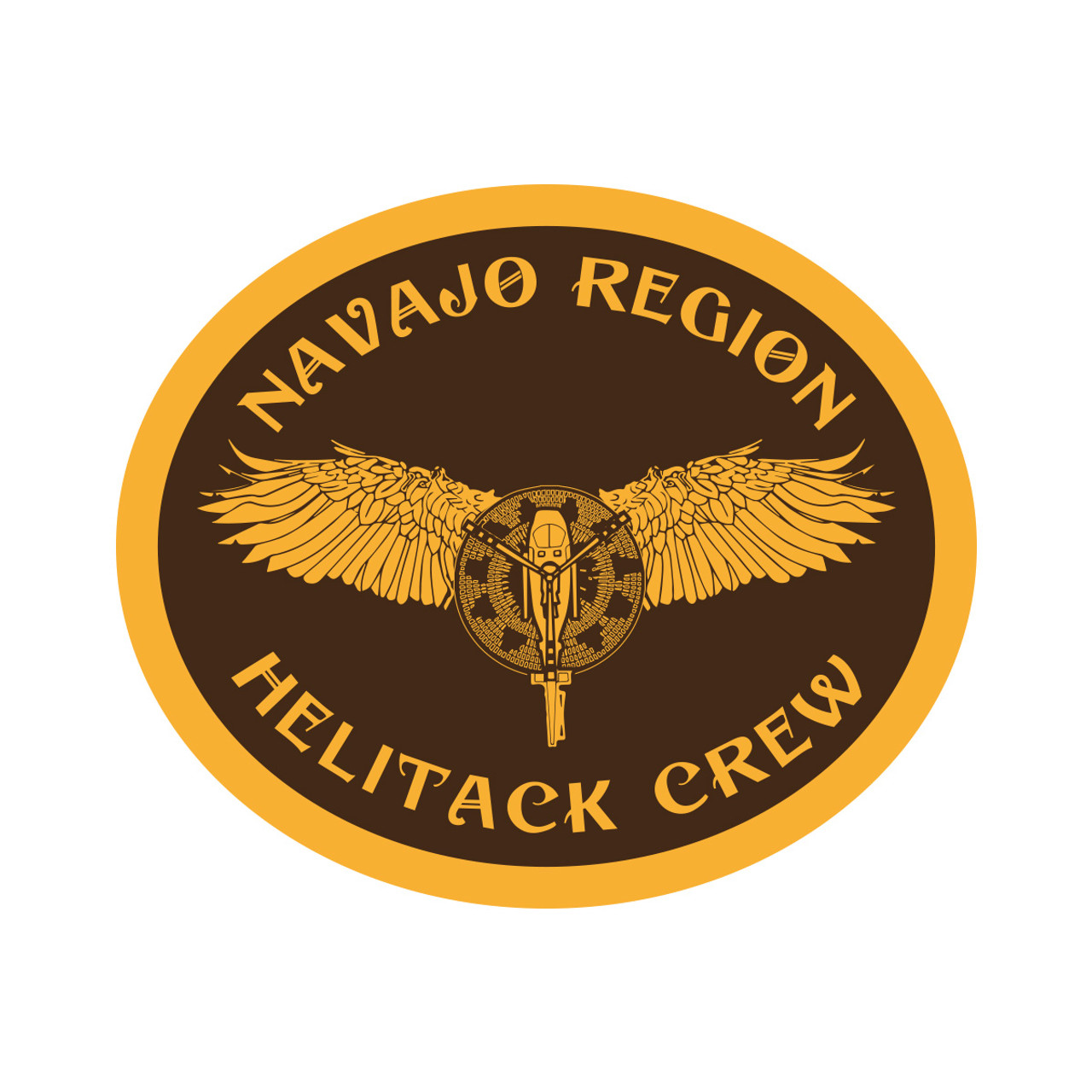 Navajo Helitack Buckle (RESTRICTED)