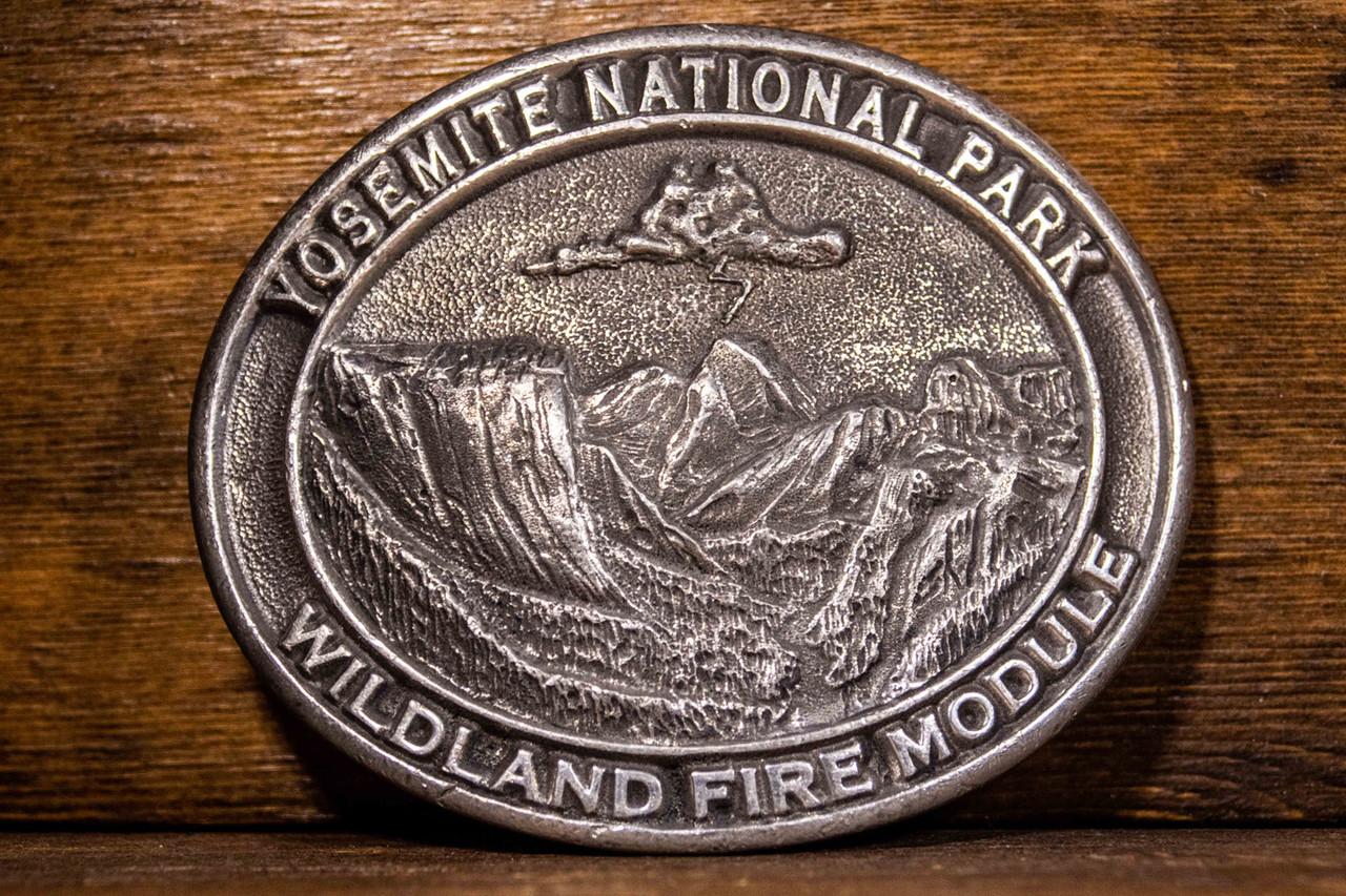 Yosemite National Forest Wildland Fire Module Buckle