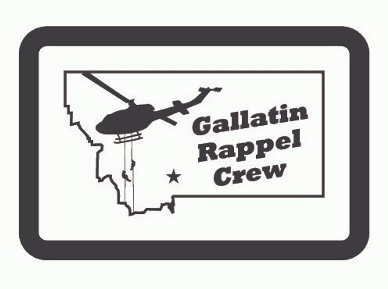 Gallatin Rappel Crew Buckle (RESTRICTED)