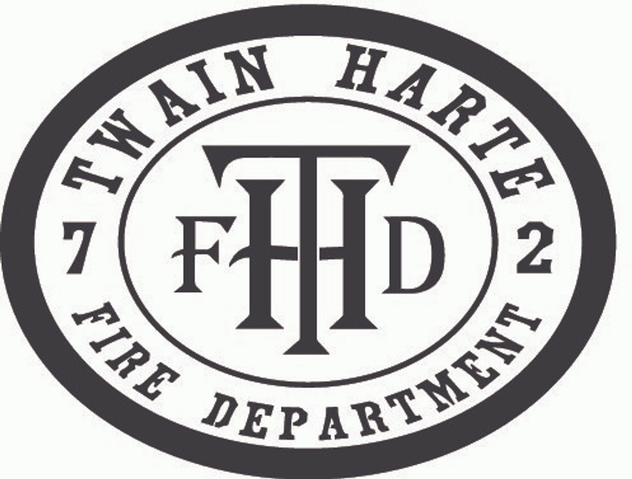Twain Harte Fire Department Buckle (RESTRICTED)