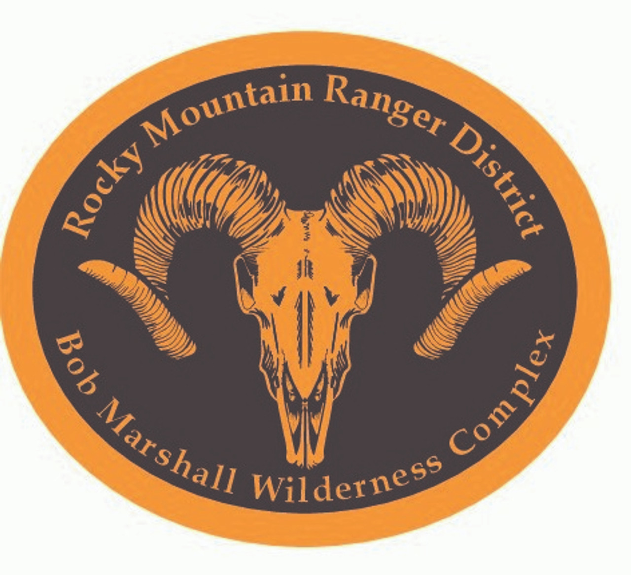 Rocky Mountain Ranger District Bob Marshall Wilderness Complex Buckle