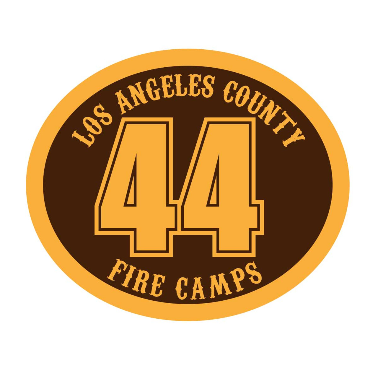 Los Angeles County Fire Camps 44 Buckle (RESTRICTED)