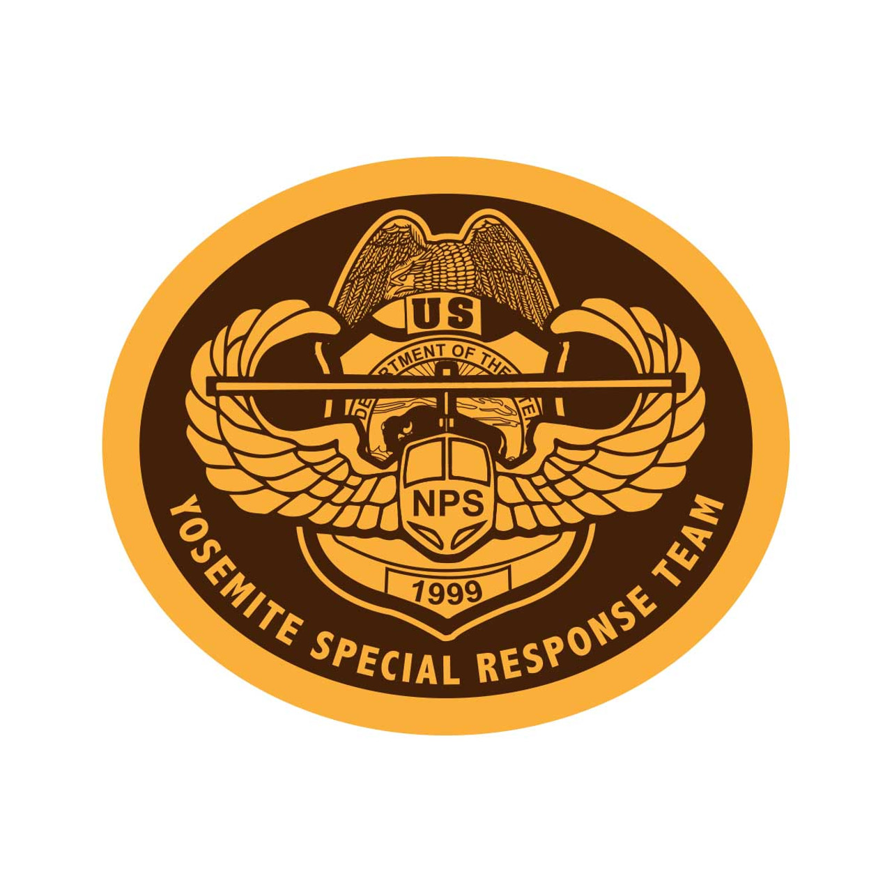 Yosemite Special Response Team Buckle (RESTRICTED)