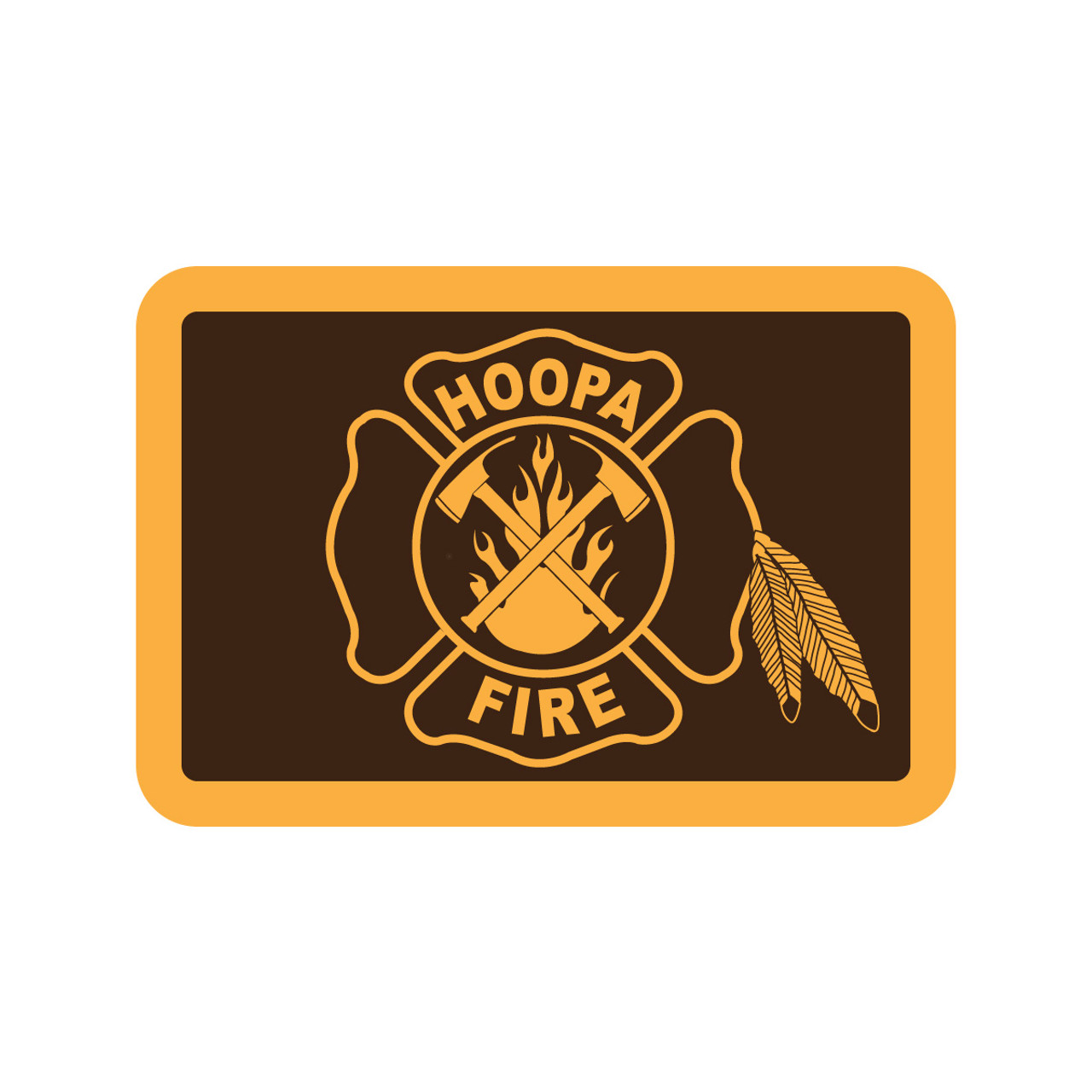 Hoopa Fire District Buckle (RESTRICTED)