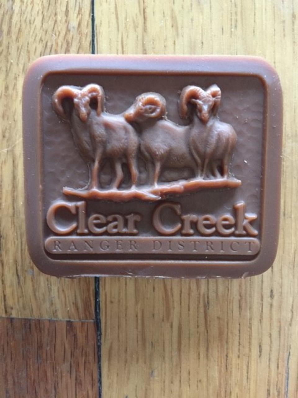 Clear Creek Ranger District Buckle