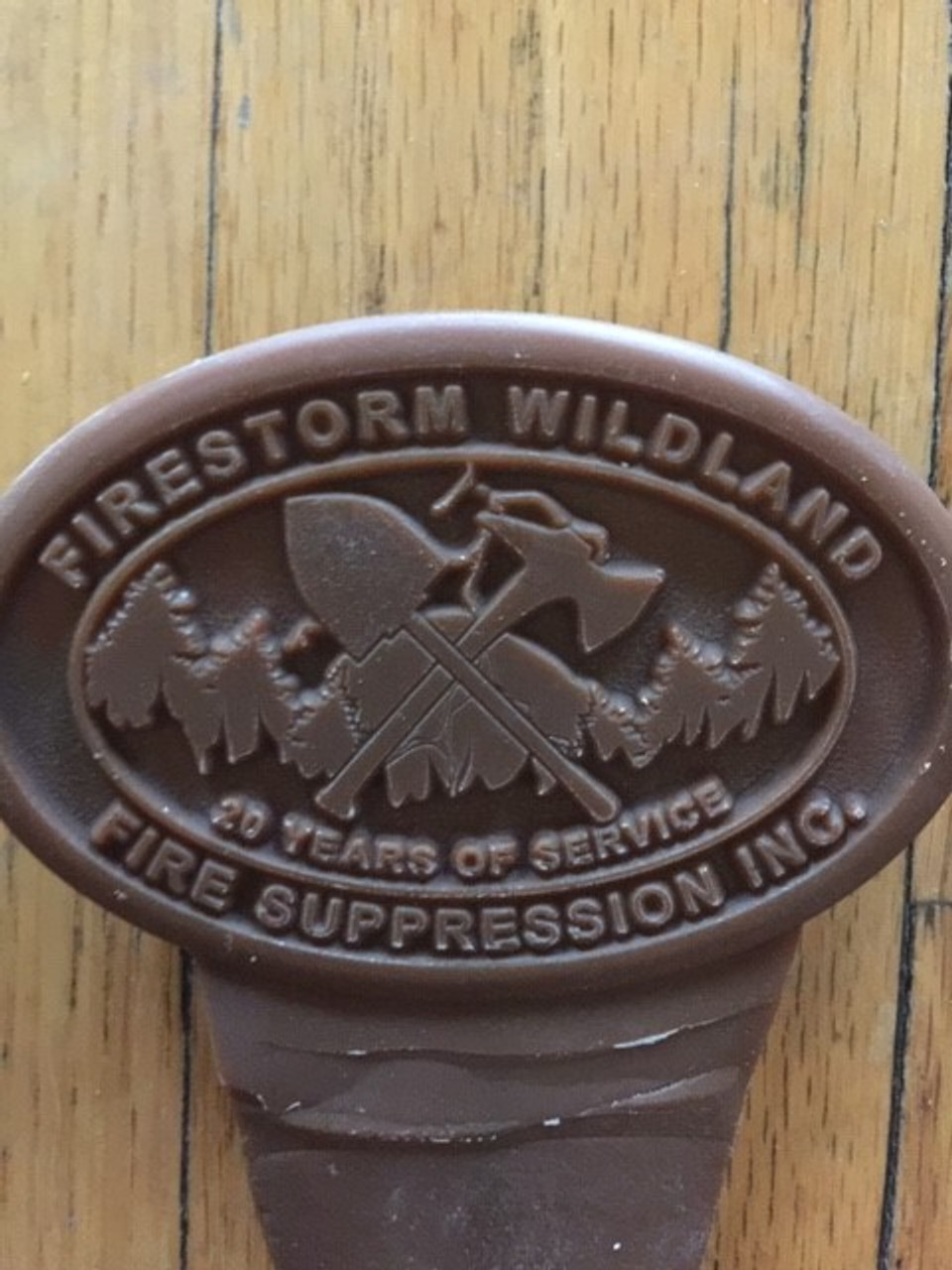 Firestorm Wildland Fire Suppression Buckle 20 Years