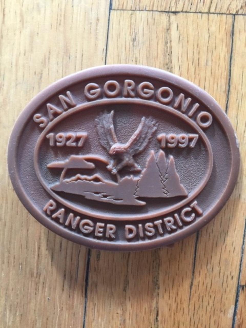 San Gorgonio Ranger District Buckle