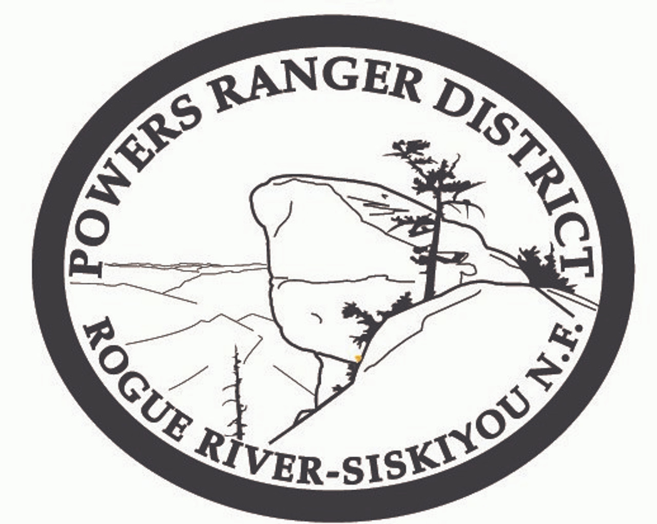 Powers Ranger District Rogue River Siskiyou National Forest Buckle