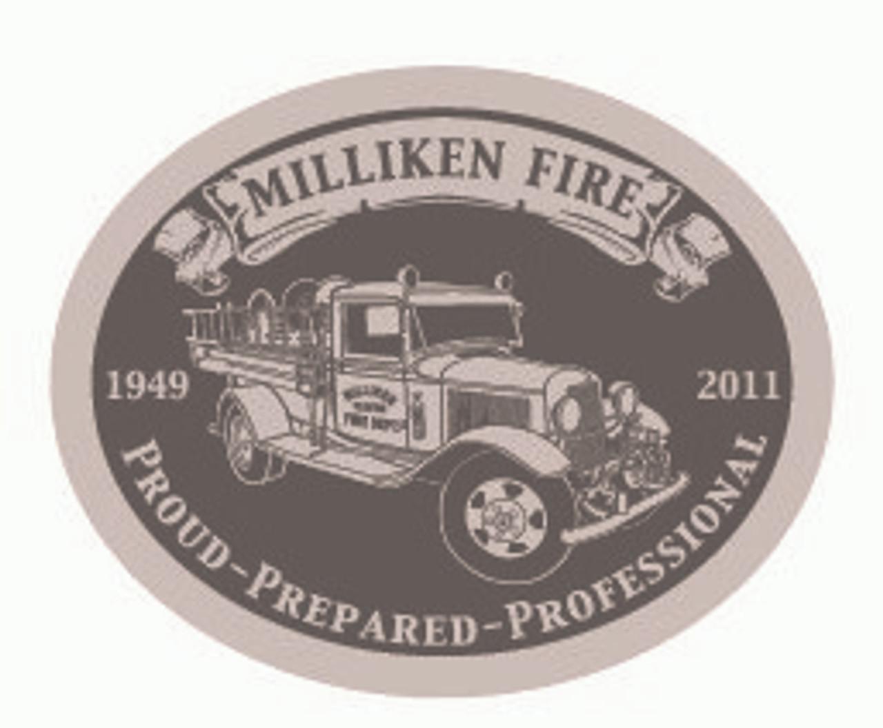 Milliken Fire Department Buckle (RESTRICTED)