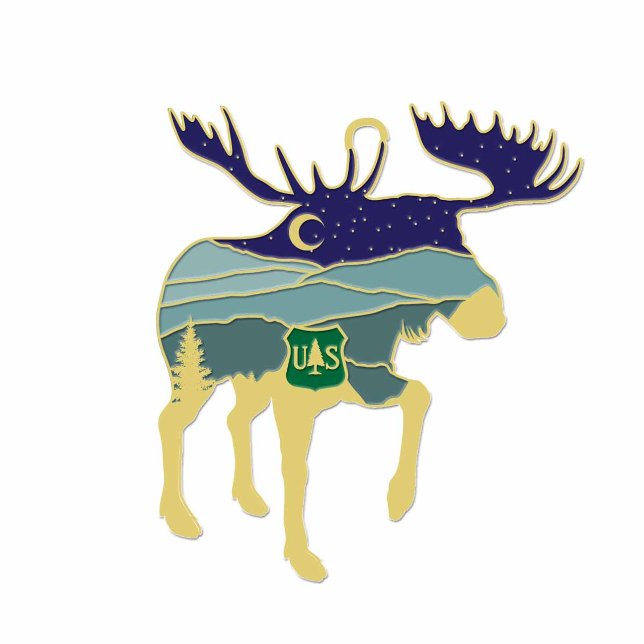 Forest Service Holiday Ornament 2020