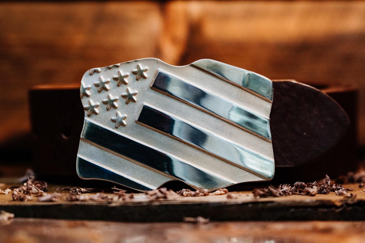 Americana Flag Buckle