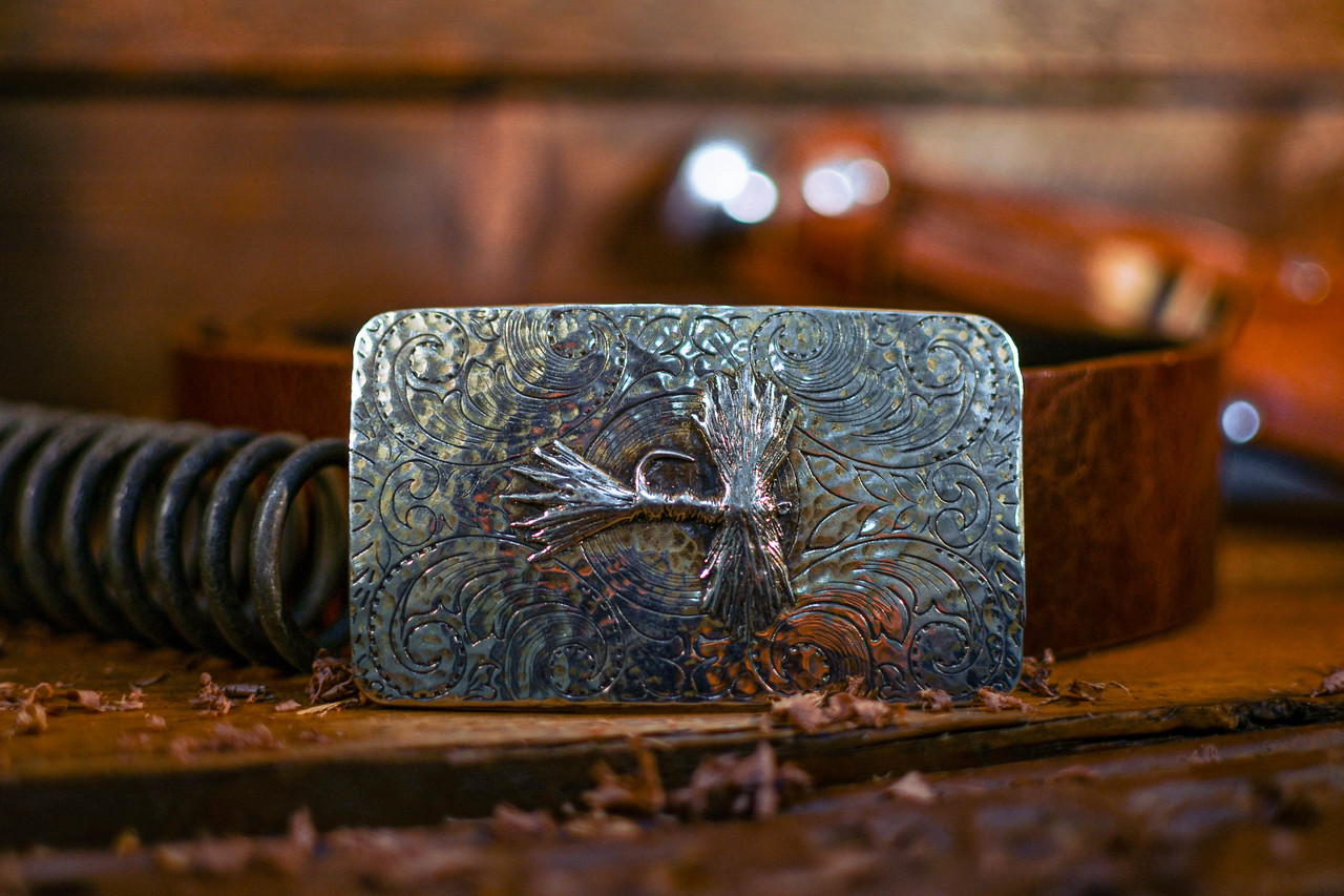 Vintage Dry Fly Buckle