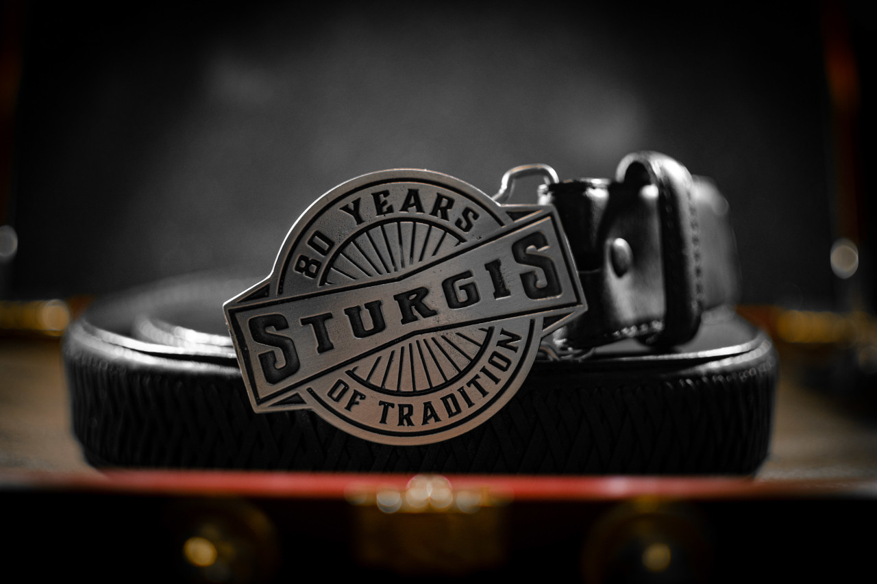 Sturgis 80th Anniversary Buckle