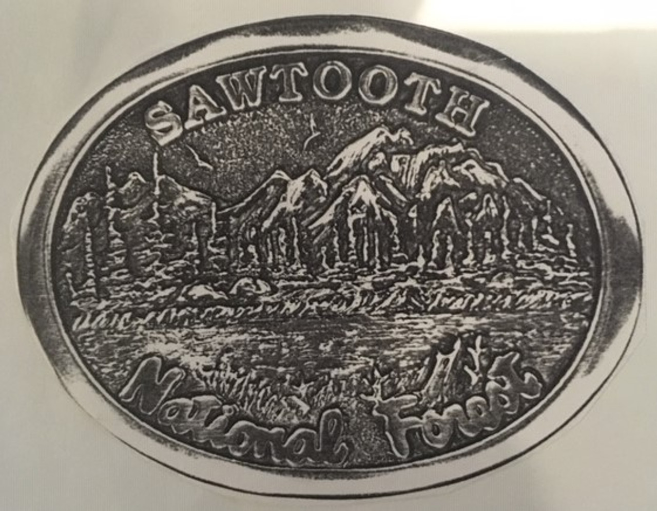 Sawtooth National Forest Buckle
