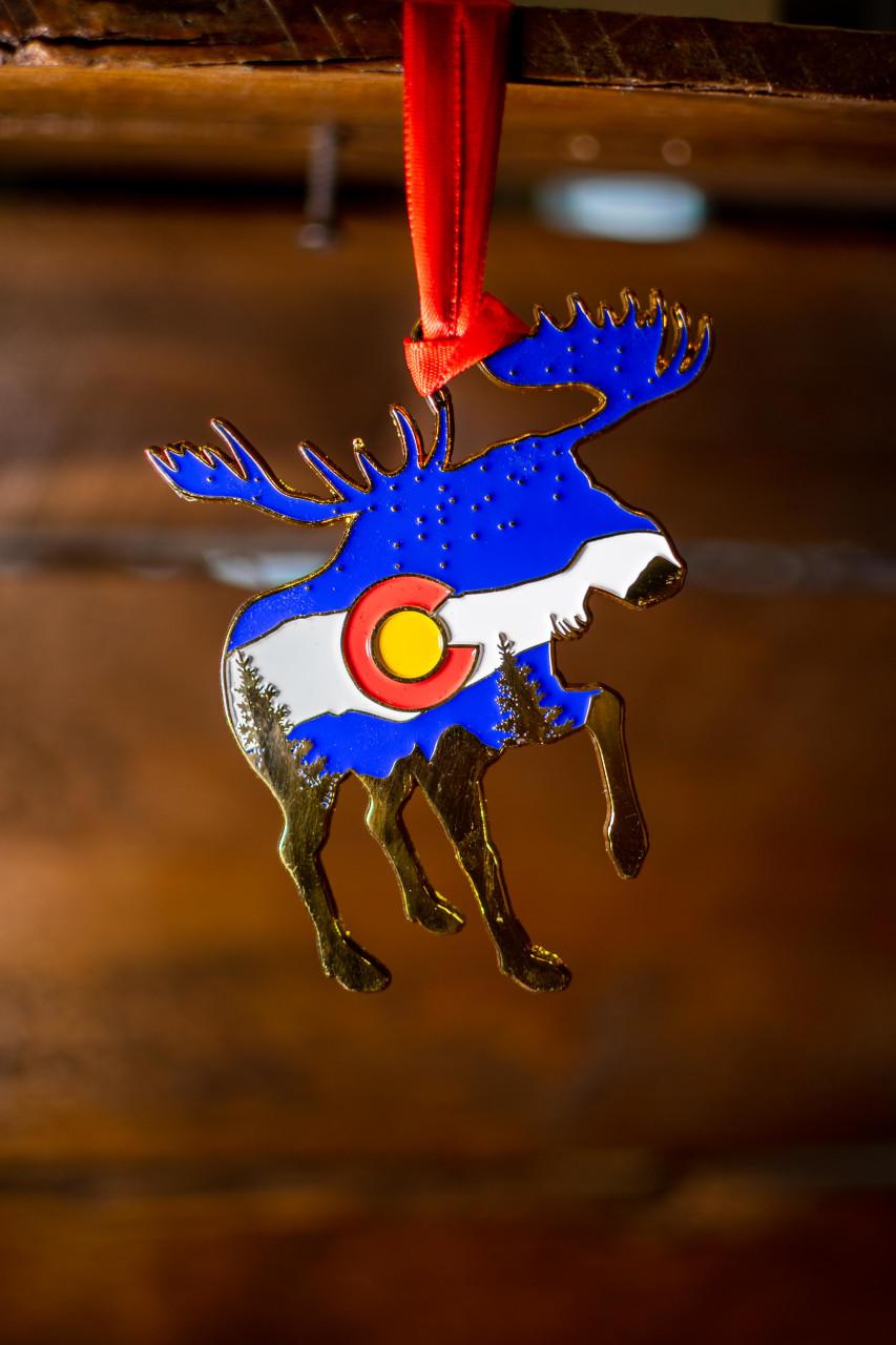 Colorado Moose Ornament